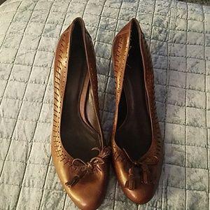 Zara Brown Heels Sz 40